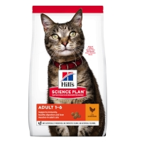 Hills Feline Adult Optimal Care Chicken, 10 kg