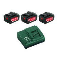 Metabo batteripakke 3 stk 18V 4.0Ah lithium batter