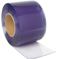 PVC strips/portgardin 25 m. 30 cm. x 3 mm.