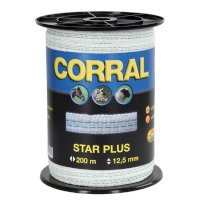 Corral Star plus polybånd 12,5 mm.  200 m.